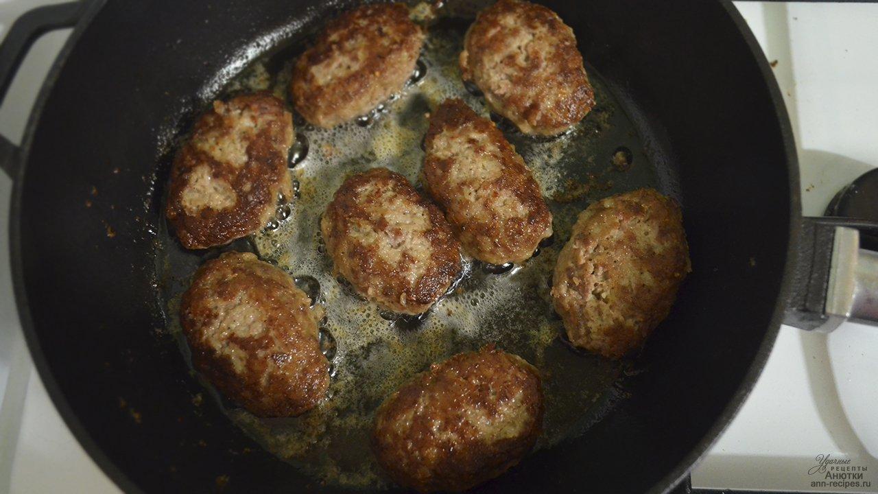Куриные котлеты из фарша рецепт пошагово на сковороде