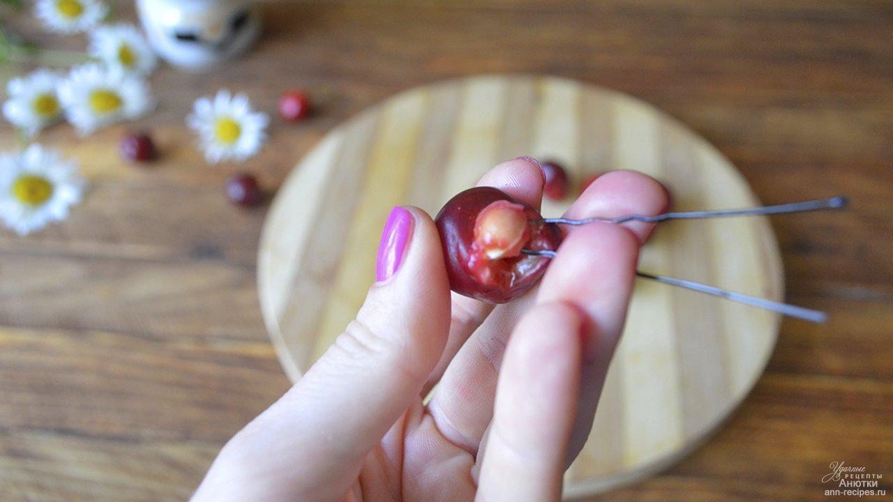Косточки из вишни своими руками 698